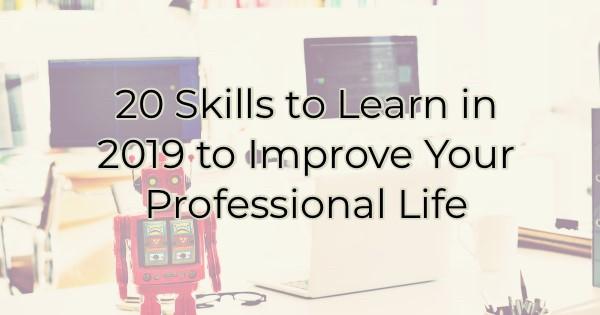 20 skills