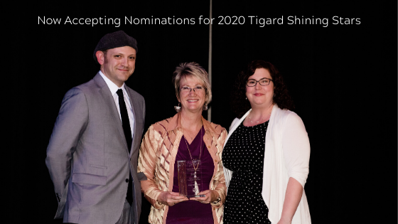 Now Accepting Nominations for 2020 Tigard Shining Stars