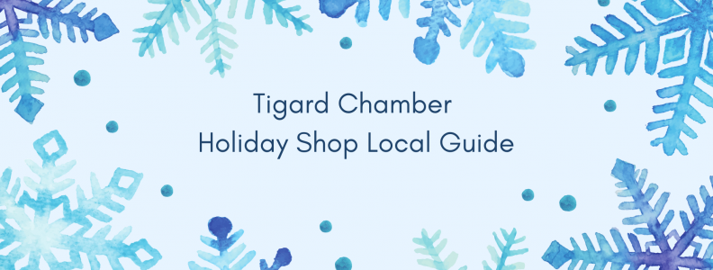 Tigard Chamber Holiday Shop Local Guide 1